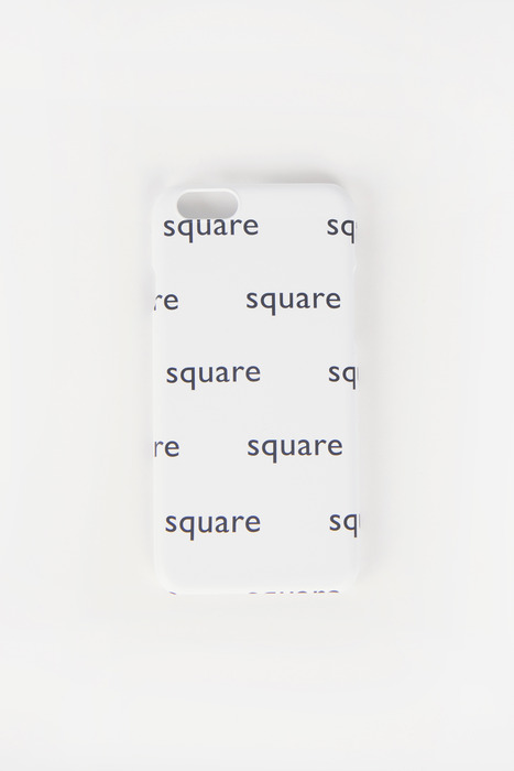 SQUARE PATTERN CASE (WHITE)